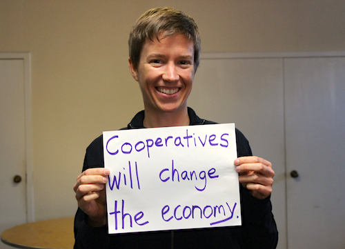 Janelle Orsi, co-founder and CEL of the Sustainable Economies Law Center. |||