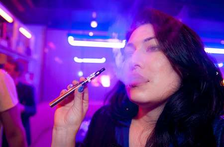 Vaping Party at the Museum of Sex ||| Credit: Anthony Collins