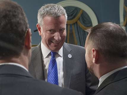 New York City Mayor Bill de Blasio (D) ||| William Alatriste/NYC Council