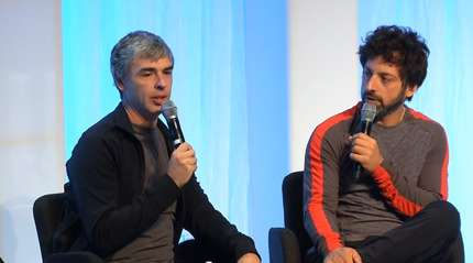 Google's Larry Page and Sergey Brin |||