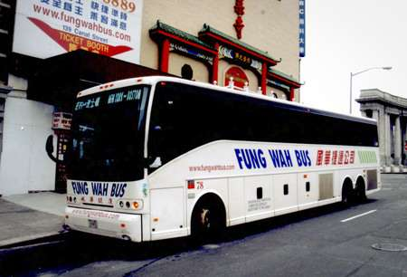 Fung Wah was the first chinatown bus company. |||