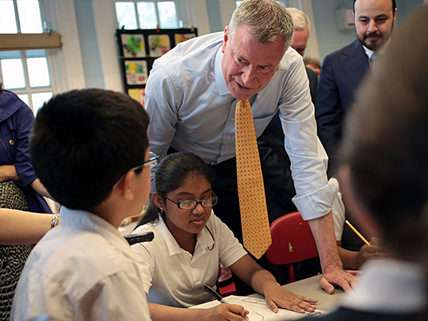 New York City Mayor Bill de Blasio (D) |||