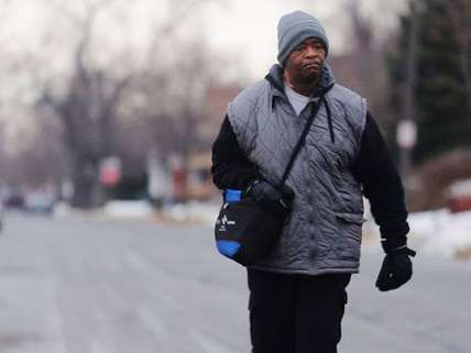 James Robertson walks 21-miles to and from work everyday ||| Detroit Free Press