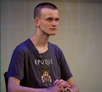 Vitalik Buterin, the creator of Ethereum.