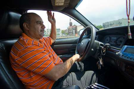 "Taxi driver and medallion owner Alaa Khalil says Uber ""messed up"" his life."