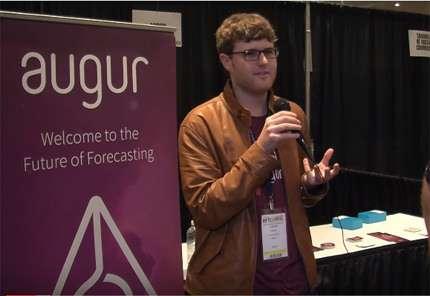Joey Krug, Augur's lead developer.