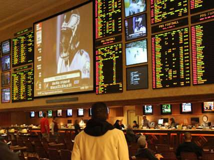 Sports betting in Vegas |||