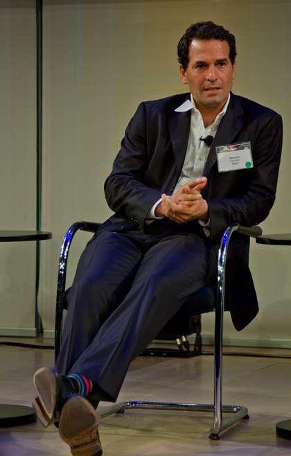 Wences Casares at the Consensus Conference in New York City, September 10, 2015.