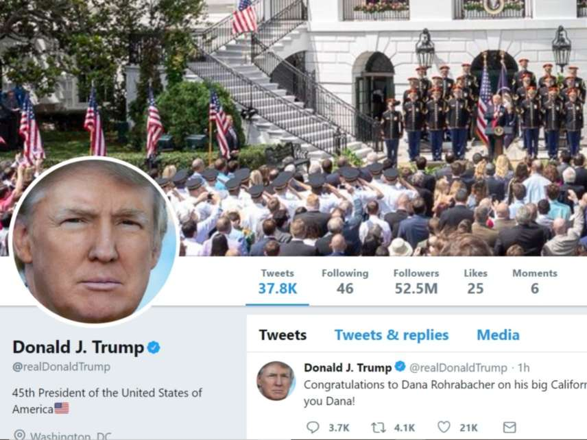 3a78d80d84e37 Telling Trump to Stop Blocking Critics on Twitter Doesn't Affect the ...