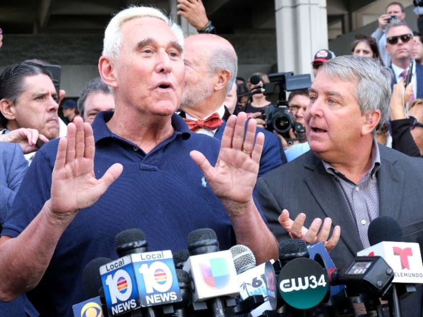 Roger Stone Indictment Describes a Cover-Up of a Nonexistent Crime