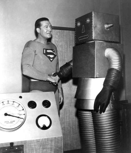 Kal-El is no stranger to advanced technology.