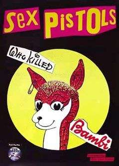 Never trust a hippie/'Cause I love punky Bambi