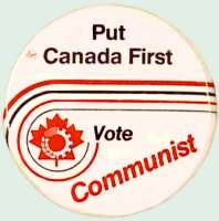 What would be really awesome is if this were a button for the AMERICAN Communist Party.