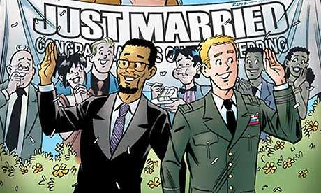Now your Reggie/Jughead slash fiction can end with wedding bells.