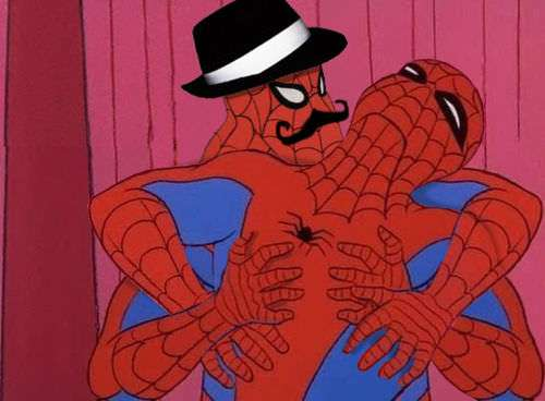 Why can't a spiderman marry another spiderman?