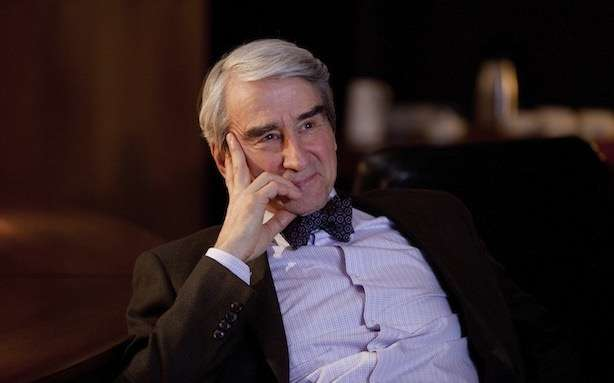 Sam Waterston's bow tie: an affectation-by-proxy.