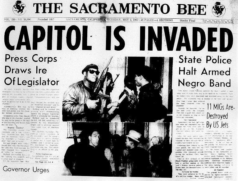 "I can't imagine why they called themselves the Black Panther Party when the name ""Armed Negro Band"" was available."