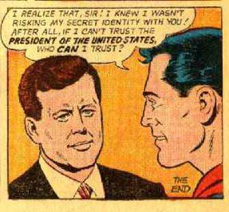 Superman's no birther!