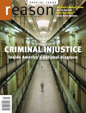 Click the cover to read Reason's special issue on mass incarceration.