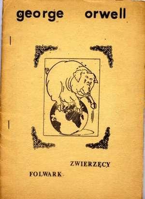 Polish samizdat edition of Animal Farm.