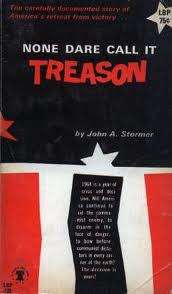 """Did you know """"treason"""" rhymes with """"reason""""? I'll bet some witty fellow could get a lot of mileage out of that."""
