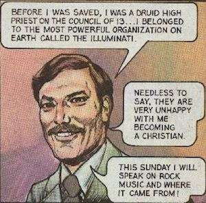 If it's in a Jack Chick comic book, it must be true.