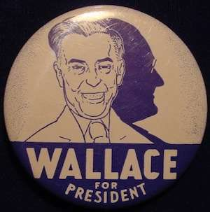 Henry Wallace in earlier years.