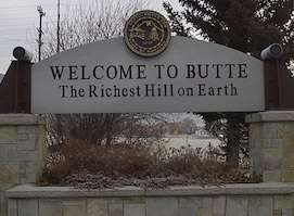 Don't wear a suit to Butte, bud!