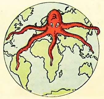 World communism (artist's rendition).