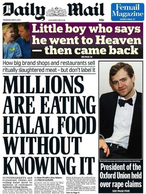 But do they serve halal food to little boys in heaven?