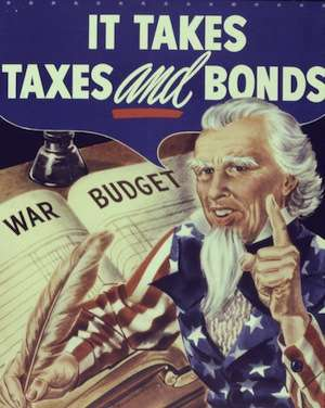 Your taxes, but not your war budget.