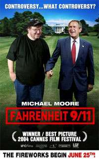 THE FIREWORKS NEVER STOPPED. CURSE YOU, MICHAEL MOORE.