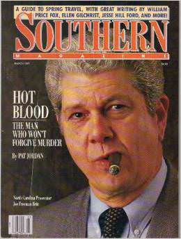 Joe Freeman Britt. You know he's tough, 'cause he smokes a cigar.