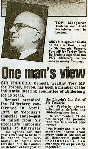 In 1980, the Daily Mirror ran this as a sidebar to a more skeptical take on the conference.