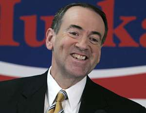 Huckabee in happier days.