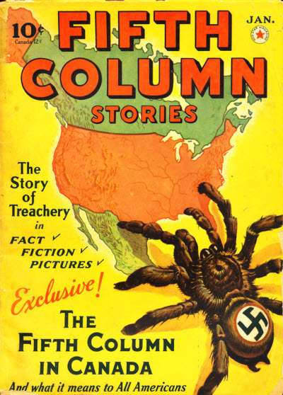 Invasion of the Canadian Nazi Spiders
