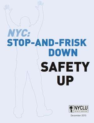 Stop, frisk, and listen before you cross the street.