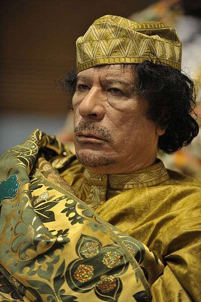 The Qaddafi/Trump debates were the high point of Amero-Libyan history on Earth-503.