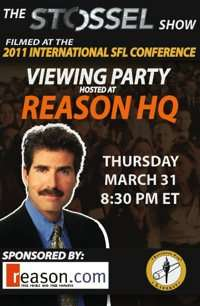 March 31st Stossel Viewing Party