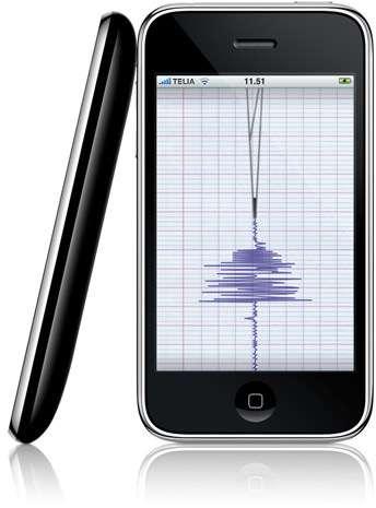Seismometer app
