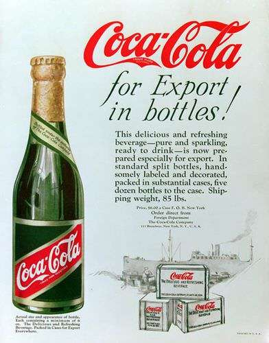 Coke: The champagne of fattening death beverages