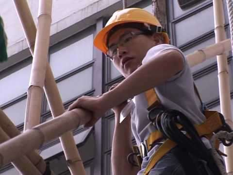 bamboo scaffolding just doesn't seem like a great idea to me. But what do I know?