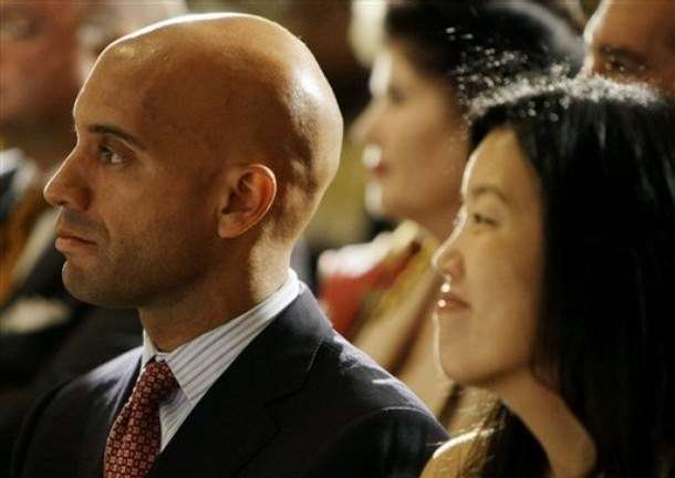 Adrian Fenty and Michelle Rhee. Not Cory Booker and Michelle Rhee.