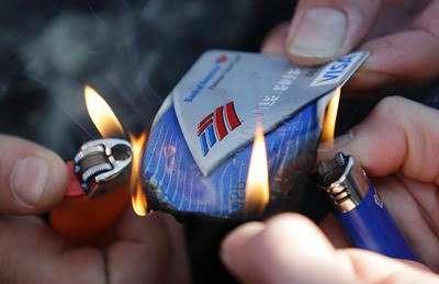 burning draft cards is easier