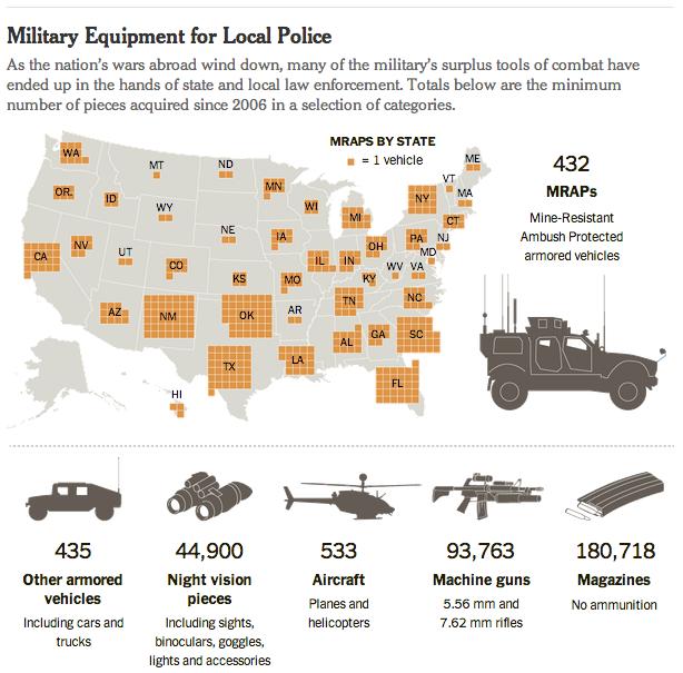 map of cops