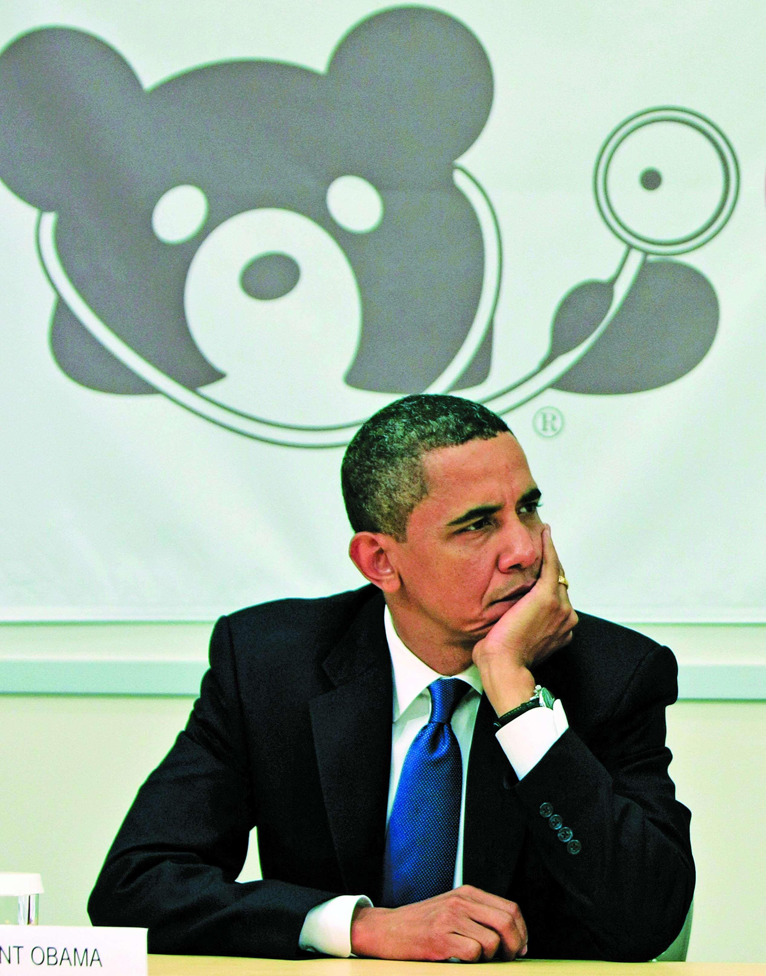 bummed obama