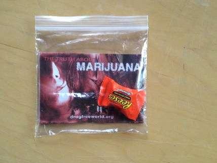 marijuana pamphlet