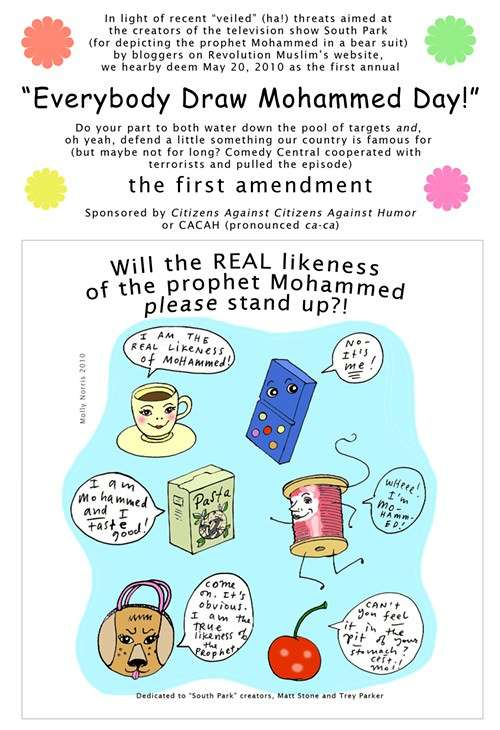 First Annual Everybody Draw Mohammad Day – Reason com