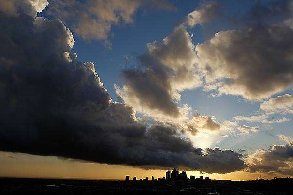Photo of an angry God by Robert Gauthier, L.A. Times