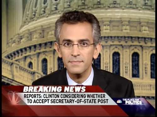 Matter of fact, I was on MSNBC with this walking conflict of interest just last week!